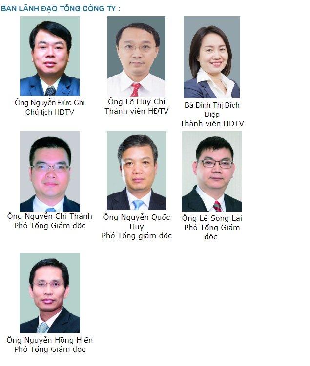 Ban lãnh đạo SCIC hiện nay còn thiếu vị trí Tổng giám đốc.