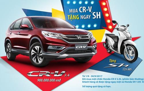 Honda CR-V đã gây sốc thị trường khi liên tiếp giảm giá đến vài trăm triệu trong vòng 1 tháng qua.