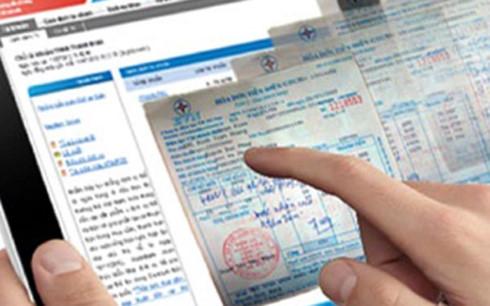 Nhiều ý kiến cho rằng nên lùi thời điểm áp dụng hóa đơn điện tử.(Ảnh minh họa: KT)