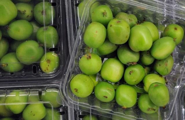Kiwi berry nhỏ như quả nho, vỏ xanh nhẵn thín