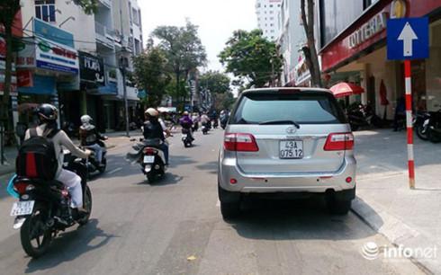 Đường trung tâm thành phố Đà Nẵng.