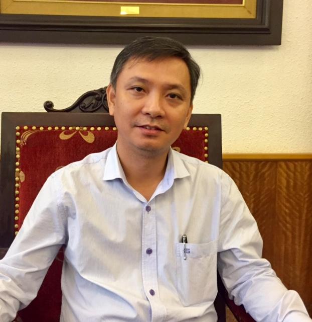 Ông Trần Hoàng, Vụ trưởng Vụ Kế hoạch Tài chính, Bộ VHTT&DL. Ảnh: VGP/Phương Liên