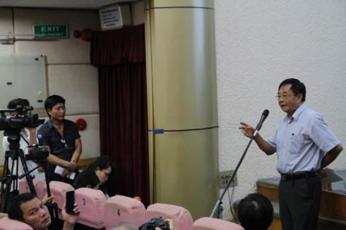 NSND-đạo diễn Đặng Xuân Hải, Chủ tịch Hội Điện ảnh Việt Nam.