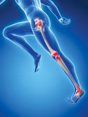 Chuột rút có thể xảy ra khi cơ bắp mệt mỏi
