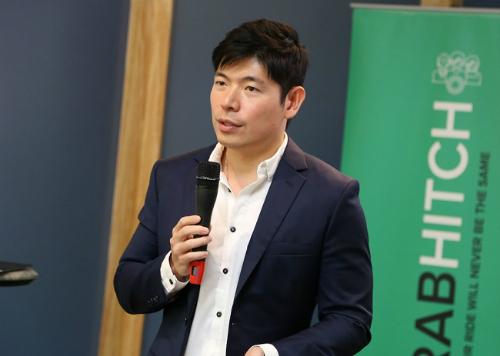 Đồng sáng lập kiêm CEO Grab Anthony Tan.