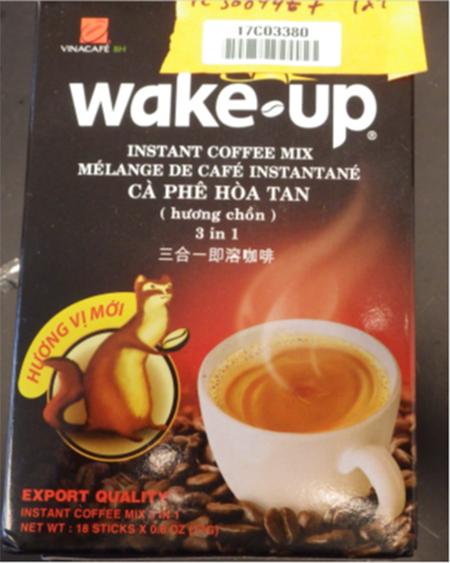 Mỹ thu hồi khẩn cấp cà phê hòa tan Wake-up của Vinacafé vì chứa chất gây dị ứng từ sữa - Ảnh 1.