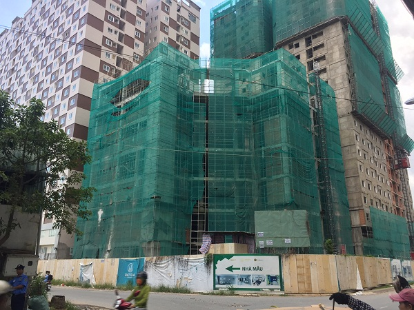 Dự án Đạt Gia Residence gồm hai block căn hộ cao 21 tầng