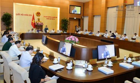 Phiên họp thứ 14 của Uỷ ban Thường vụ Quốc hội.