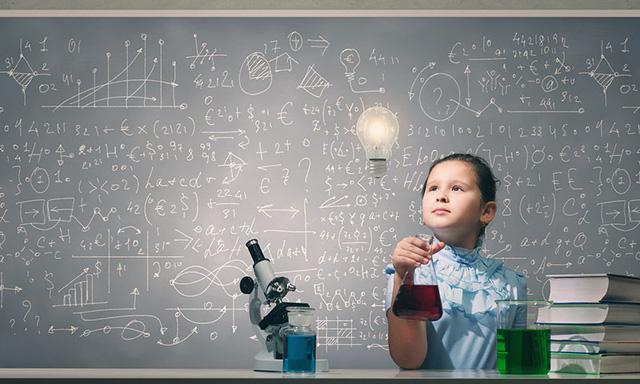 Dựa vào các dấu hiệu sớm, cha mẹ có thể phán đoán được trẻ thông minh , sáng dạ hay không (Ảnh minh họa).