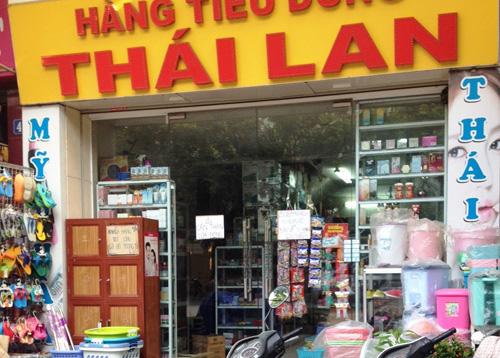 Hàng tiêu dùng Thái Lan đang dần chiếm lĩnh thị trường nội địa. Ảnh: Hoàng Dương