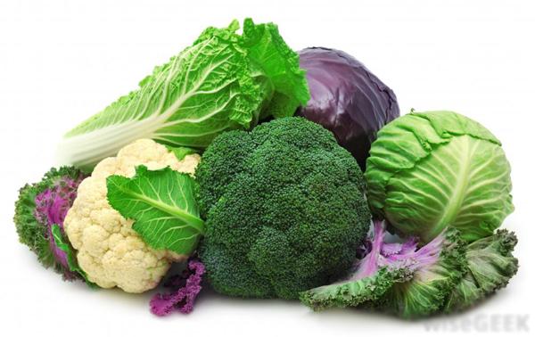 Trung y cho rằng, các loại thực phẩm màu xanh đều có tác dụng thanh nhiệt, giải độc. Nhóm rau họ cải cũng không phải ngoại lệ. (Ảnh: Nguồn Internet).