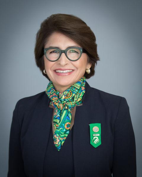 Chân dung bà Sylvia Acevedo.