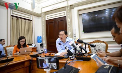 Ông Sử Ngọc Anh, Giám đốc Sở Kế hoạch – Đầu tư TP HCM.