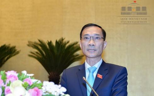 Chủ nhiệm Ủy ban Kinh tế của Quốc hội Vũ Hồng Thanh