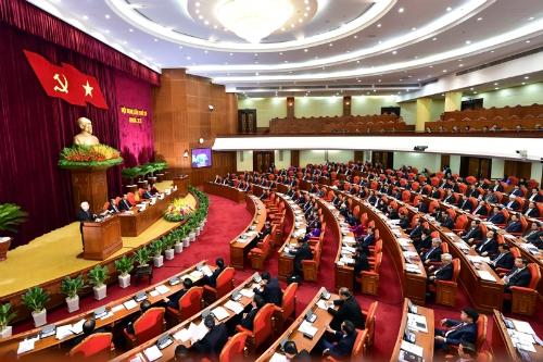 Toàn cảnh Hội nghị Trung ương 6. Ảnh: VGP