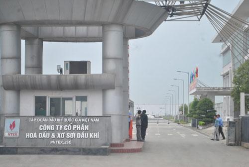 Công ty CP Hóa dầu và Xơ sợi dầu khí (PVTex) thuộc PVN - một trong những dự án ngàn tỉ thua lỗ Ảnh: HOÀI DƯƠNG