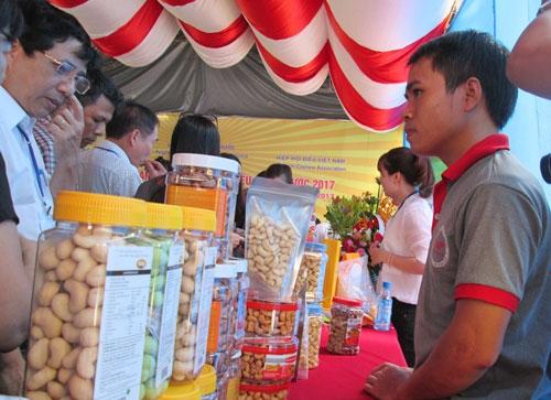 Giá trị xuất khẩu điều của Việt Nam chiếm hơn 50% thế giới