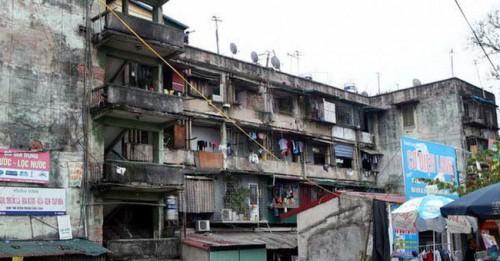 Nhiều căn hộ đang dở khóc dở cười vì trót bỏ ra tiền tỷ chờ cải tạo lại. Ảnh: Bizlive