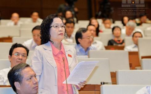 Đại biểu Trần Thị Quốc Khánh (đoàn Hà Nội)