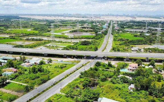 Dự án cao tốc Bến Lức - Long Thành chạy qua Cần Giờ- Ảnh: Infonet