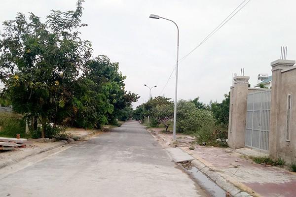 Một góc dự án khu biệt thự du lịch Thanh Bình.