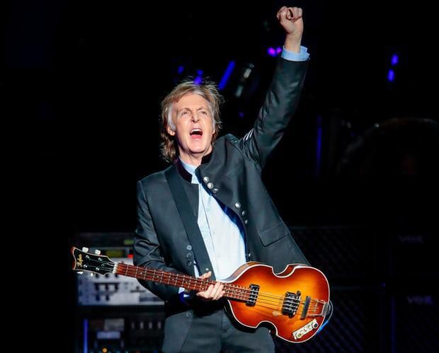 Paul McCartney, tác giả của bài hát Lady Madona đình đám một thời.