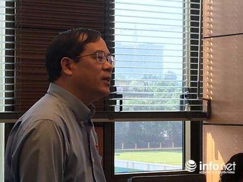 Đại biểu Quốc hội Nguyễn Quốc Hưng (Đoàn Hà Nội)