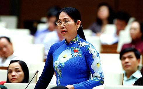 Đại biểu Quốc hội Nguyễn Thanh Thủy