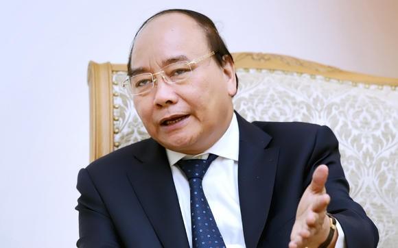 Thủ tướng Chính phủ Nguyễn Xuân Phúc trả lời phỏng vấn tờ Nikkei hôm thứ 4 tại Hà Nội