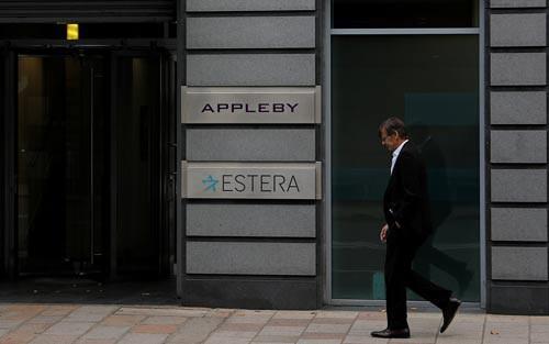 Văn phòng Appleby tại St Helier, đảo Jersey thuộc Anh Ảnh: REUTERS