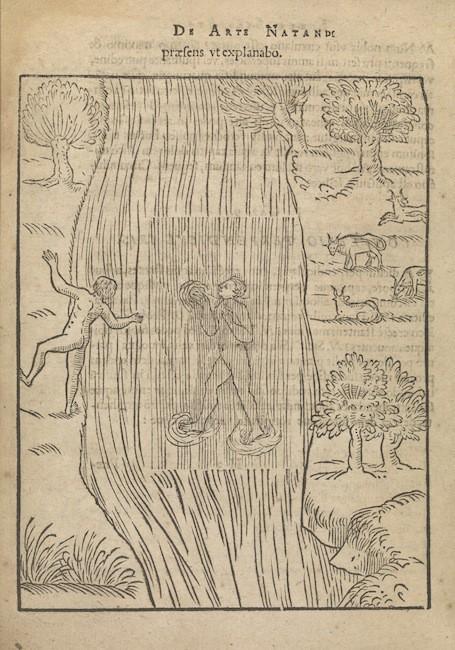 Cuốn sách De Art Natandi (The Art of Swimming - Nghệ thuật bơi lội) của nhà thần học Everard Digby
