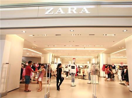 Cửa hàng của hãng thời trang Zara tại TP.HCM