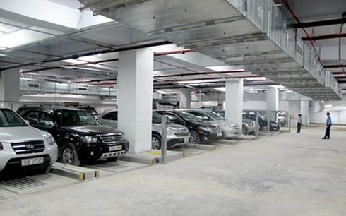 Hà Nội đang thiếu trầm trọng một vài điểm đỗ xe (Ảnh minh họa: KT)