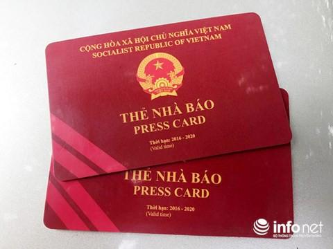 Thẻ nhà báo, thẻ Đảng, bằng lái xe không được lên máy bay do... lỗi đánh máy