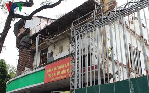 UBND quận Hoàn Kiếm sẽ tổ chức cưỡng chế thu hồi đất ở 30A Lý Thường Kiệt 33 Hàng Bài.