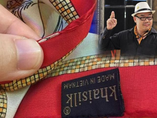 """Những ngày qua, câu chuyện """"hàng lụa Việt cao cấp Khải Silk made in China"""" được đưa ra ánh sáng đã khiến dư luận """"dậy sóng""""."""
