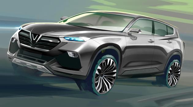 Bản thiết kế mẫu xe thương hiệu Việt nhiều khả năng sẽ được Vinfast đưa vào sản xuất thương mại.