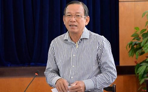 Ông Nguyễn Hoàng Minh, Phó Giám đốc NHNN - Chi nhánh TP HCM.