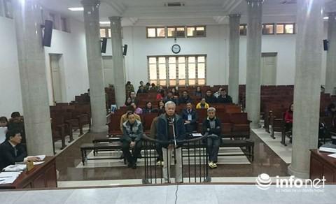 Cựu Chủ tịch GPBank Tạ Bá Long nói lời sau cùng trước khi HĐXX nghị án.