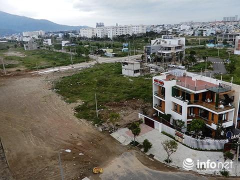 Dự án Khu đô thị Harbour Ville bên cầu Thuận Phước (Ảnh: HC)