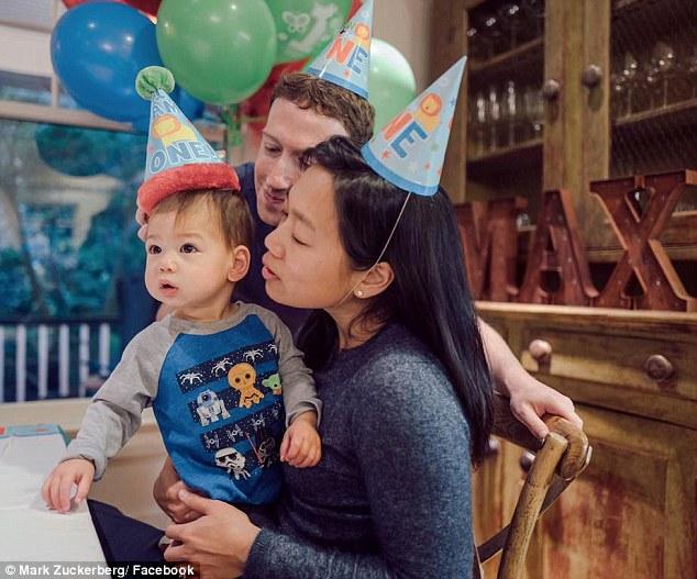 Điều khiến tôi hạnh phúc và tự hào nhất trong cuộc đời chính là vợ và con của tôi, Mark Zuckerberg chia sẻ.