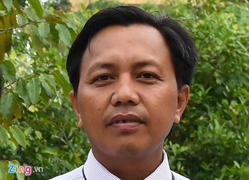 Tiến sĩ Hồ Thanh Tâm, Phó hiệu trưởng trường Cao đẳng Cần Thơ . Ảnh: Nhật Tân.