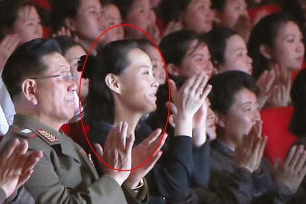 Cô Kim Yo Jong trong một sự kiện. Ảnh: Donga.