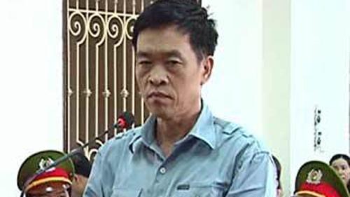 Bị cáo Trần Văn Liêm trong phiên tòa năm 2012