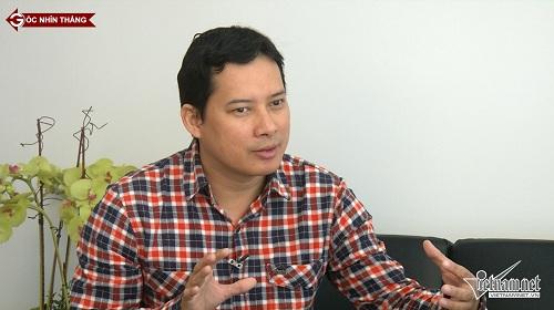 Ông Lê Quang Tự Do, Phó Cục trưởng Cục Phát thanh truyền hình và thông tin điện tử, Bộ Thông tin và Truyền thông chia sẻ với Góc nhìn thẳng về Thông tư 38(ảnh: Phạm Huyền)