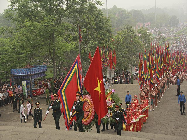 Giỗ Tổ Hùng Vương năm 2016. Ảnh: VietNamNet