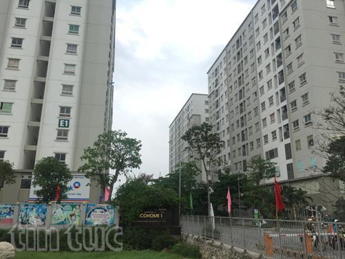 Dự án nhà ở xã hội Eco Home khá thành công ở Bắc Từ Liêm, Hà Nội.