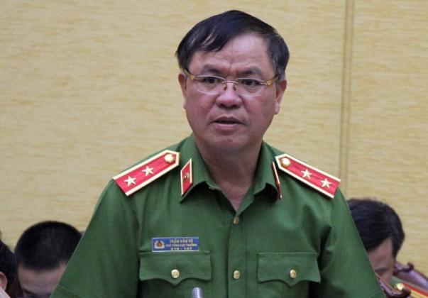 Trung tướng Trần Văn Vệ, Phó tổng cục trưởng Tổng cục Cảnh sát