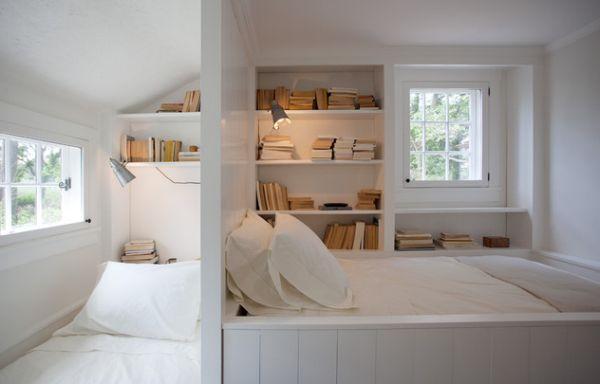 Một phòng ngủ rất nhỏ nhưng biết sắp xếp thông minh nó vẫn có thể trở nên đẹp mắt, gọn gàng, rộng rãi hơn bao giờ hết.