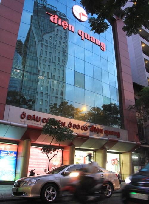 Công ty Điện Quang tại đường Hàm Nghi, quận 1 TPHCM. Ảnh: Ngô Tùng.